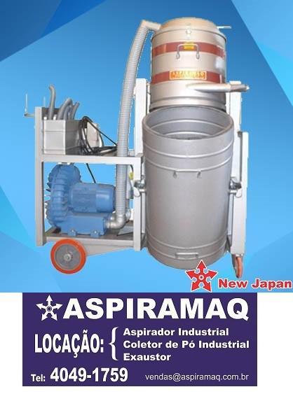 Aspirador industrial para grãos