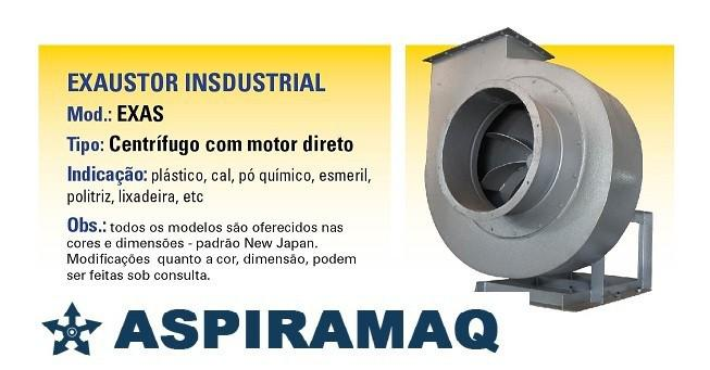 Fabricante de exaustor centrifugo